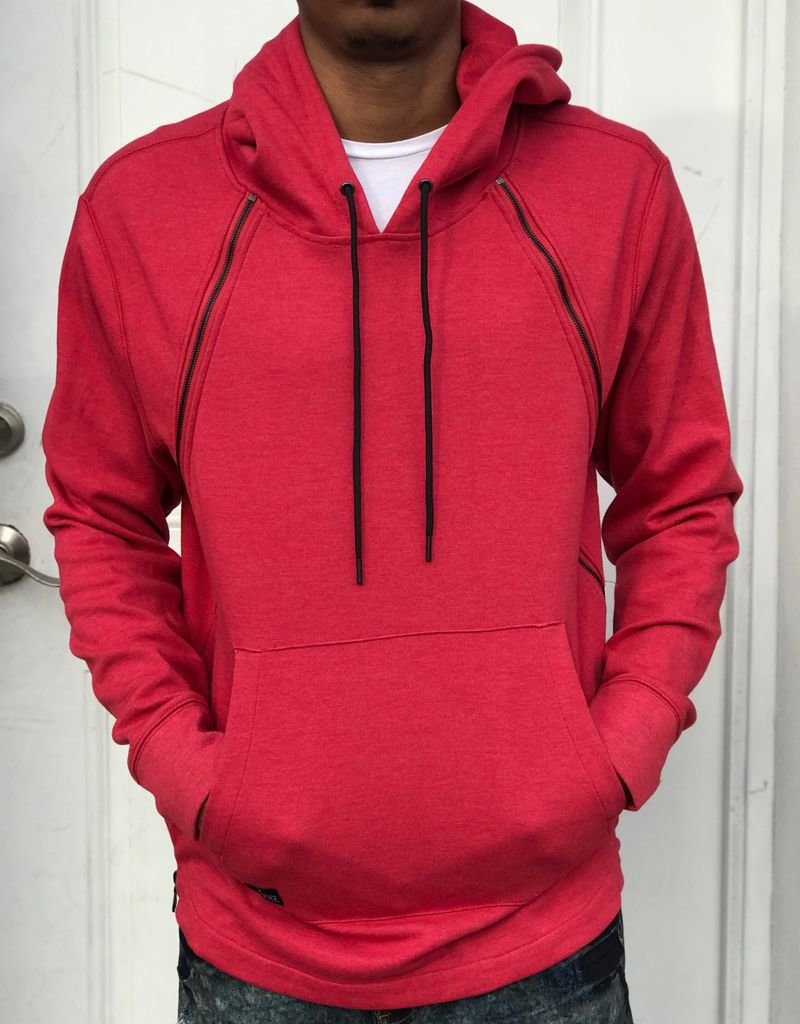 TACKMA THE RED STEALTH HOODIE