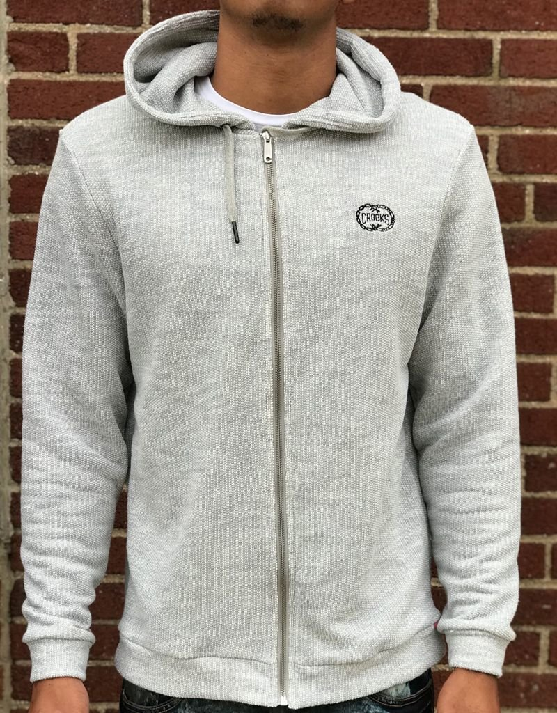 CROOKS & CASTLES NITRO ZIP HOODY
