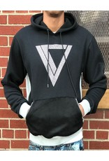 Vie + Riche IMAGE LOGO ZIPPERED POCKET HOODY