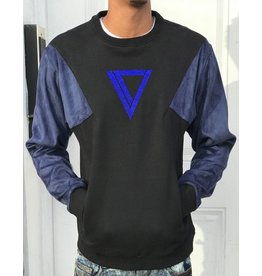 Vie + Riche SIXER COLOR BLOCK CREWNECK