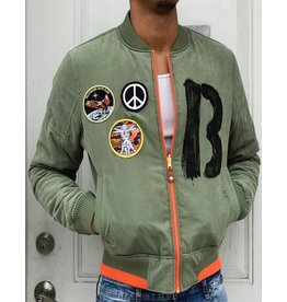 BILLIONAIRE BOYS CLUB BB FOUR LEAF REVERSIBLE JACKET