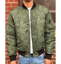 CULT OF INDIVIDUALITY ARMY CAMO BOMBER REVERSIBLE JACT