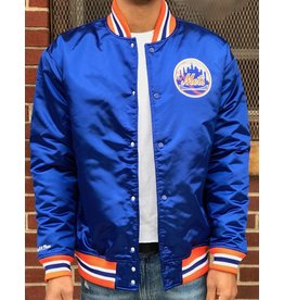 Mitchell & Ness NEW YORK METS SATIN JACKET
