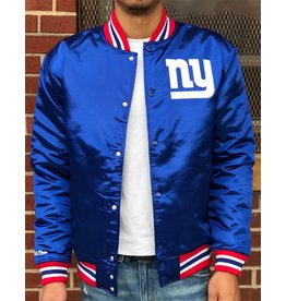 Mitchell & Ness NEW YORK GIANTS SATIN JACKET