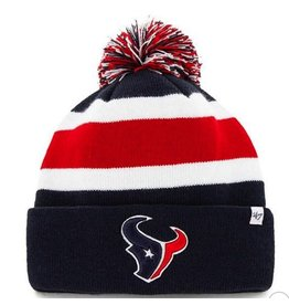 47 BRAND HOUSTON TEXANS BREAKAWAY CUFF KNIT