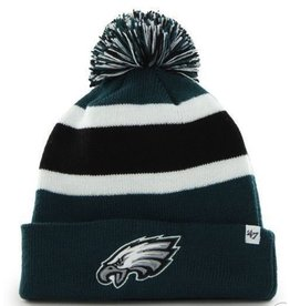47 BRAND PHILADELPHIA EAGLES BREAKAWAY CUFF KNIT