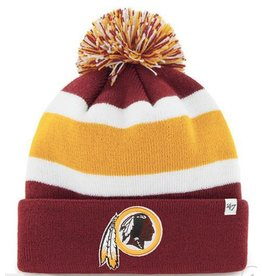 47 BRAND WASHINGTON REDSKINS BREAKAWAY CUFF KNIT