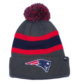 47 BRAND NEW ENGLAND PATRIOTS BREAKAWAY CUFF KNIT