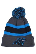 47 BRAND CAROLINA PANTHERS BREAKAWAY CUFF KNIT