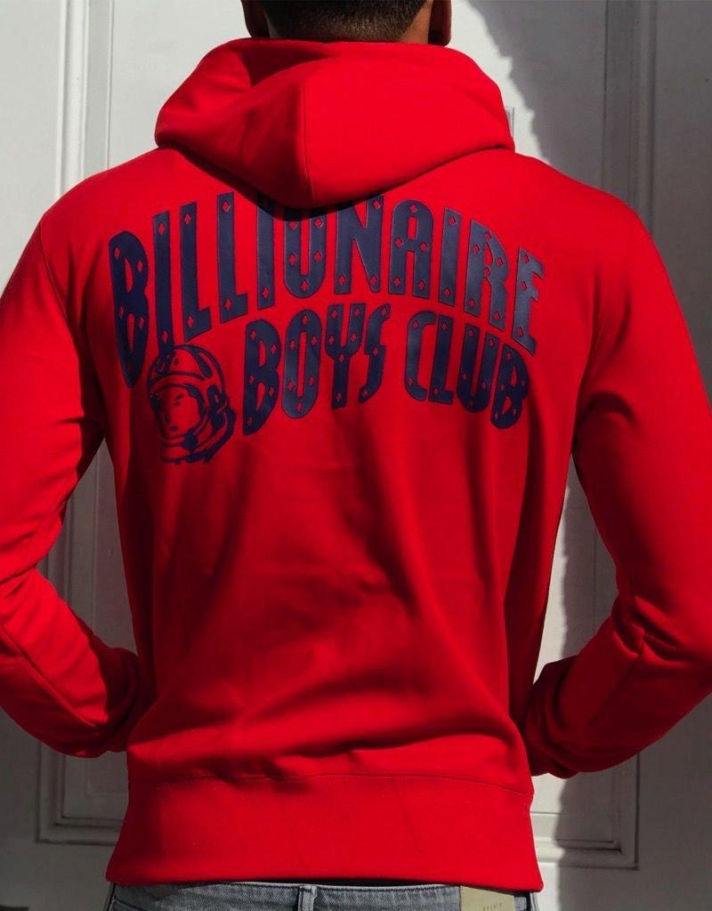 BILLIONAIRE BOYS CLUB BB ZIP LOGO HOODIE