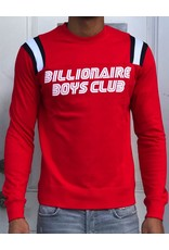 BILLIONAIRE BOYS CLUB RED BB TOUR DE LS PULLOVER