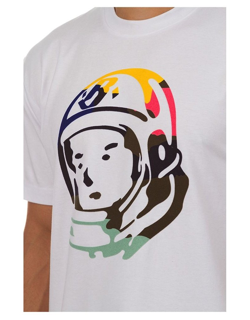 BILLIONAIRE BOYS CLUB WHITE BB HELMET SS TEE