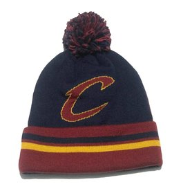 Mitchell & Ness CLEVELAND CAVALIERS 2 FACE KNIT WITH POM