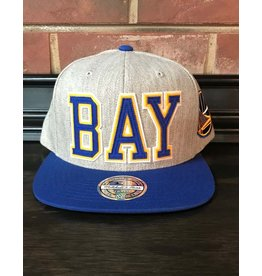 Mitchell & Ness GOLDEN STATE WARRIORS RETAGGIO 110FLEX SNAPBACK