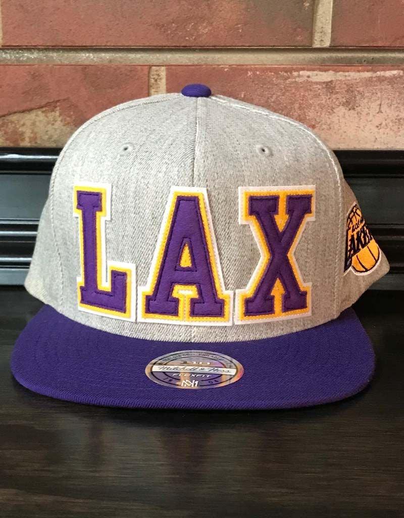 Mitchell & Ness LOS ANGELES LAKERS RETAGGIO 110FLEX SNAPBACK
