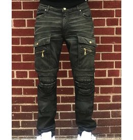 ROBIN'S JEANS ROBINS GREEN ARMY MOTO