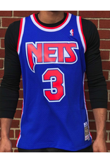 the latest a0ed5 c8d03 Mitchell & Ness NEW JERSEY NETS DRAZEN PETROVIC HARDWOOD CLASSIC SWINGMAN  JERSEY