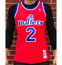 Mitchell & Ness WASHINTON BULLETS CHRIS WEBBER  HARDWOOD CLASSIC SWINGMAN JERSEY