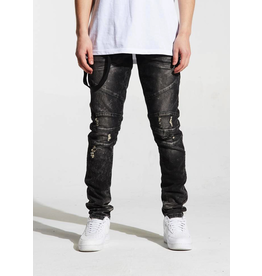 CRYSP DENIM CHARCOAL MONTANA DENIM