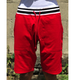 BILLIONAIRE BOYS CLUB RED BB GYM RAT SHORT