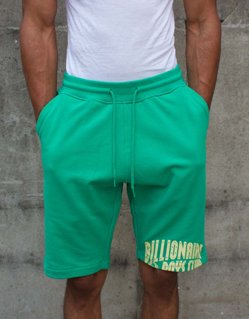 BILLIONAIRE BOYS CLUB MING GREEN BB ARCH SHORTS