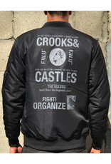 CROOKS & CASTLES HEADLINES JACKET BOMBER JACKET