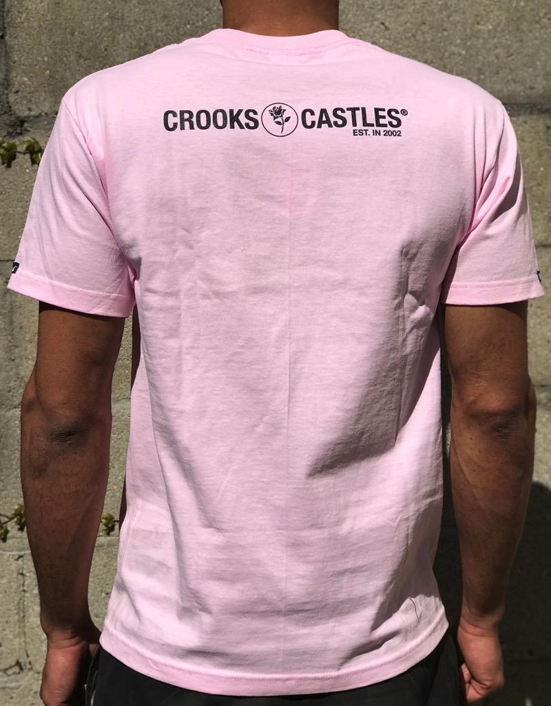 CROOKS & CASTLES SLASHED BANDITO TEE