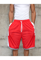 CROOKS & CASTLES TRIBAL BASKETBALL SHORTS