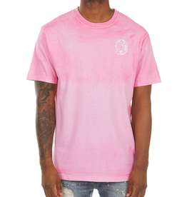 BILLIONAIRE BOYS CLUB PINK BB PANEL ARCH SS TEE