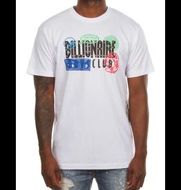 BILLIONAIRE BOYS CLUB BB SENSES LOGO SS TEE