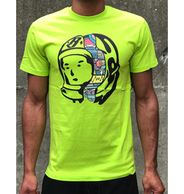 BILLIONAIRE BOYS CLUB LIME BB UNIT IV SS TEE