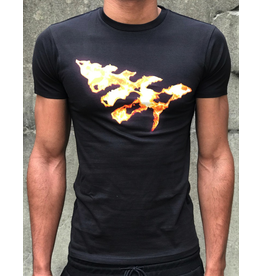 PAPER PLANES ON FIRE TEE