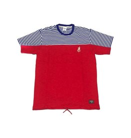 CROOKS & CASTLES THE TRUE RED PLAYER TEE