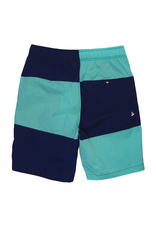 PAPER PLANES Teal Wind Surfer Shorts
