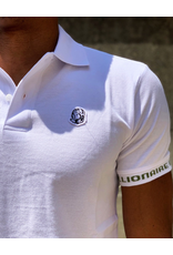 BILLIONAIRE BOYS CLUB WHITE BB COCKPIT SS POLO