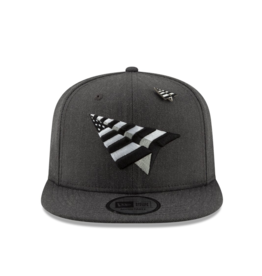 PAPER PLANES CHARCOAL CROWN OLD SCHOOL SNAPBACK