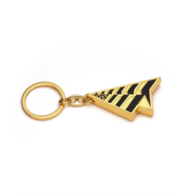 PAPER PLANES GOLD PLANES KEYCHAIN