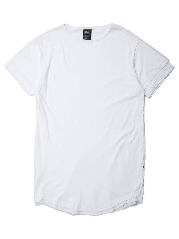 PUBLISH WHITE MILAN KNIT TEE