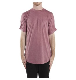 PUBLISH FISHER MAROON TEE