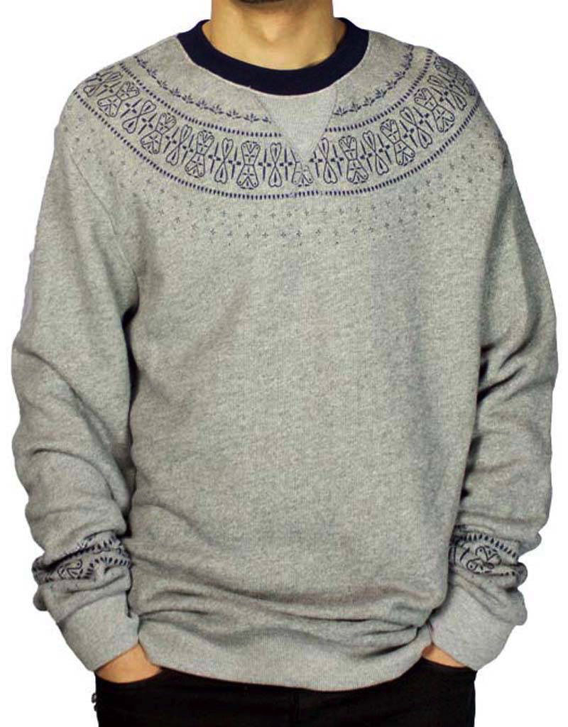 CROOKS & CASTLES NATIVE SWEATER