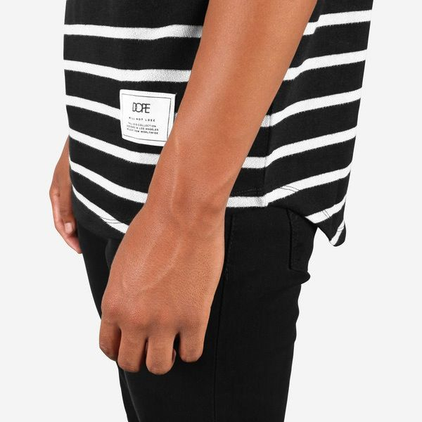 DOPE STRIPED HENLEY