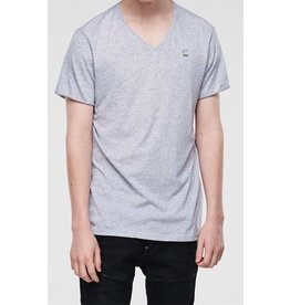 G STAR HEATHER GREY MIKAN V T S/S