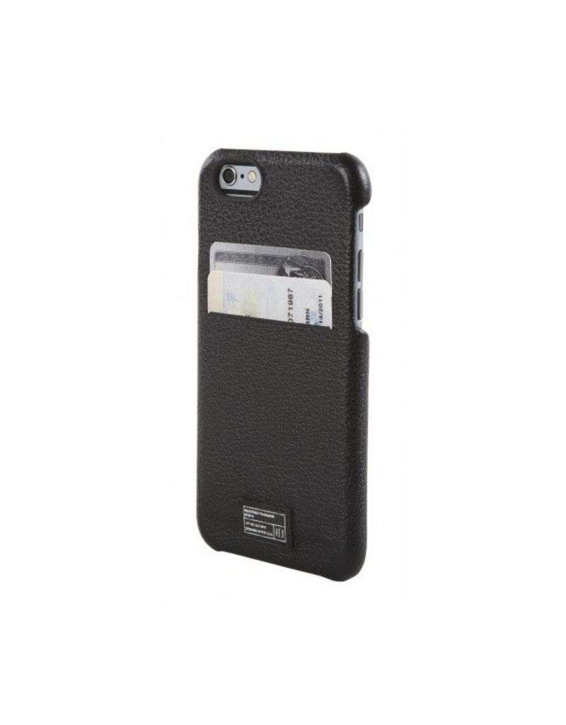 SOLO WALLET FOR IPHONE 6 BLACK LEATHER
