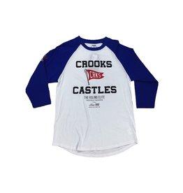 CROOKS & CASTLES BASEBALL RAGLAN TEE