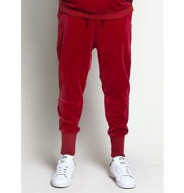 Entree LS RED VELOUR JOGGERS