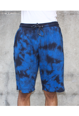 CROOKS & CASTLES CRKS OVERDYED SWEATSHORTS BLACK