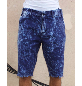 PRPS NAVY GRASS SHORTS
