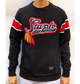 STAPLE BLACK PIGEON CREWNECK