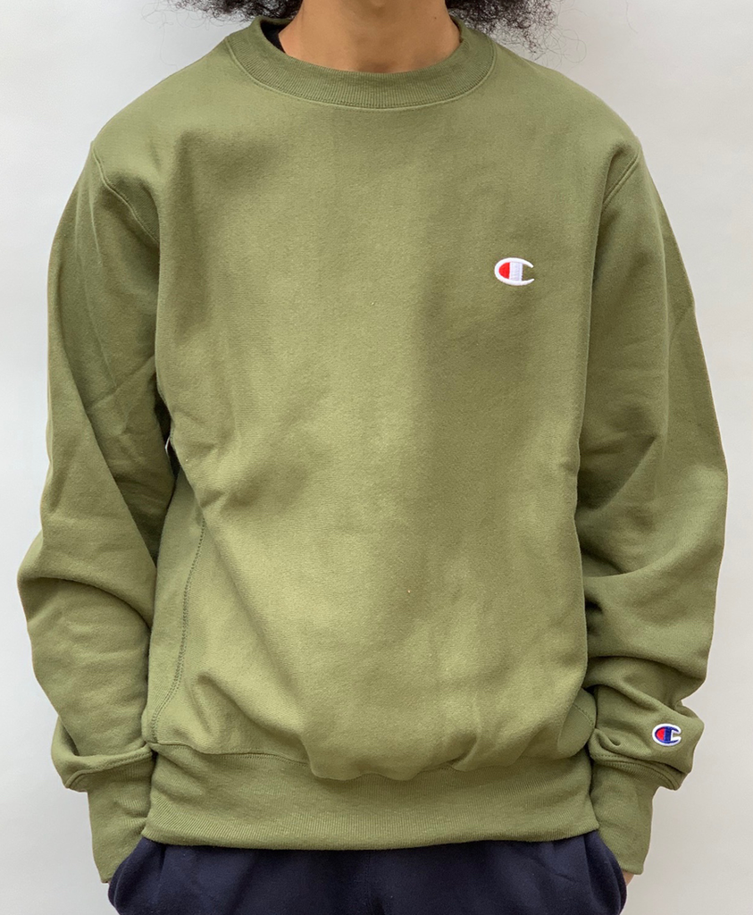 Champion Mens Reverse Weave Crew Sweatshirt