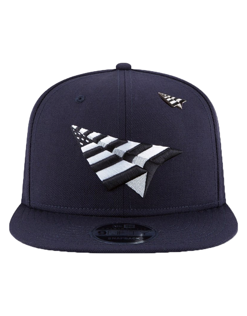 PAPER PLANES NAVY BOY CROWN OLD SCHOOL SNAPBACK
